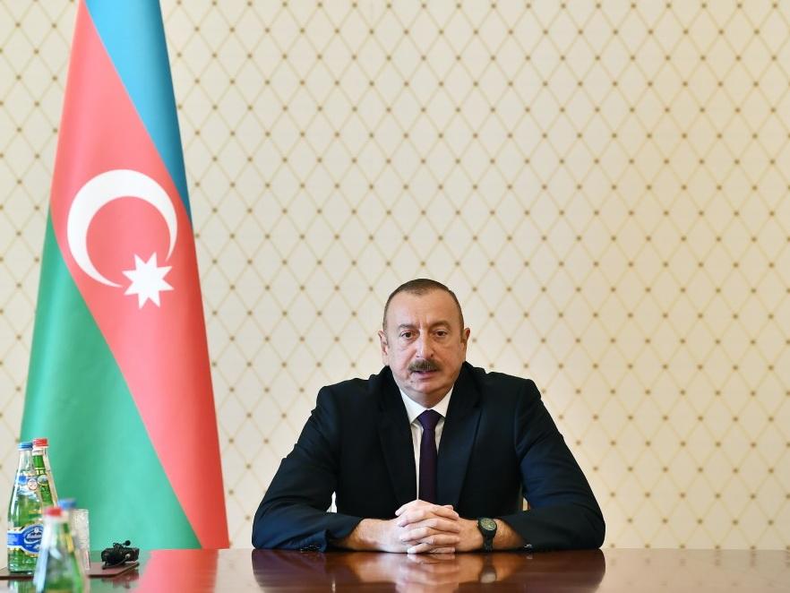 Ильхам Алиев: Преступления, совершенные в Гяндже, направлены против азербайджанской государственности