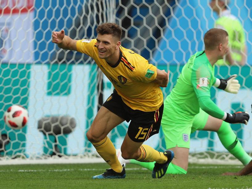 Сборная Бельгии одержала победу над Англией в матче за третье место на ЧМ-2018 - ФОТО