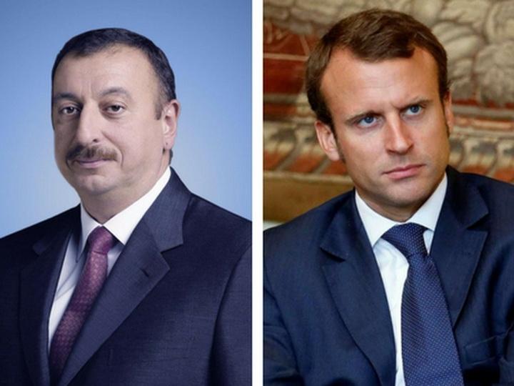 Президенты Азербайджана и Франции встретятся в Париже