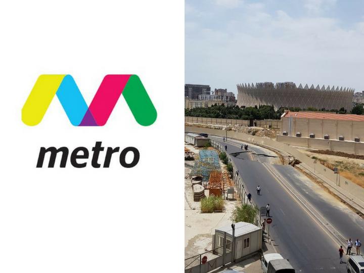 Бакметрополитен: Прокладка метро к обвалу дороги в Баку отношения не имеет