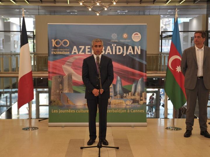 В Каннах начались дни азербайджанской культуры, организованные Фондом Гейдара Алиева - ФОТО