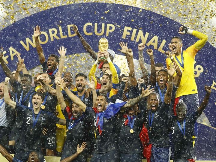 Сборная Франции выиграла чемпионат мира - ФОТО