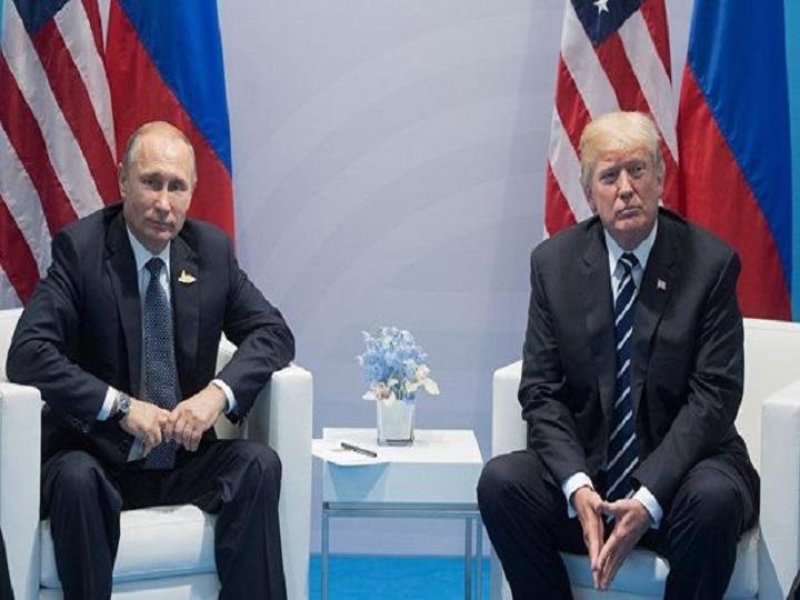 Tramp və Putin arasında görüş keçirilir