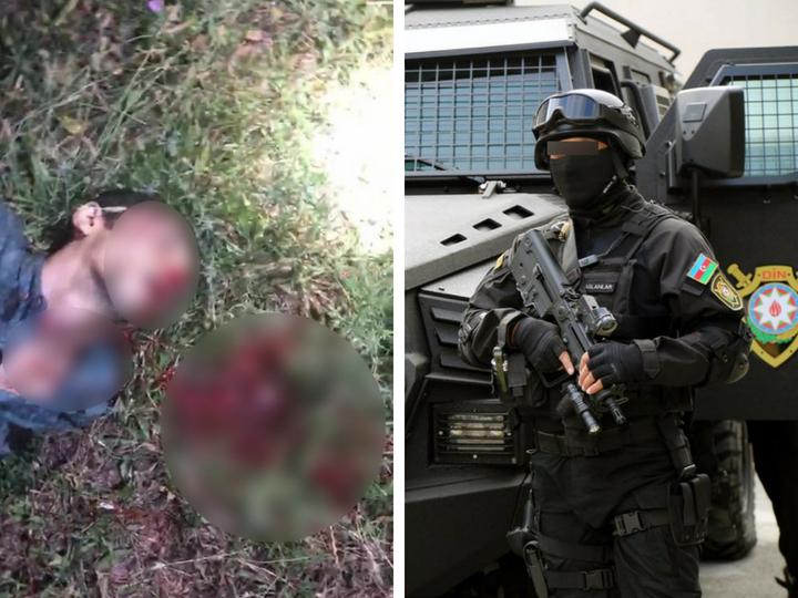 Распространены фотографии спецоперации против преступников, замешанных в гянджинских событиях - ФОТО