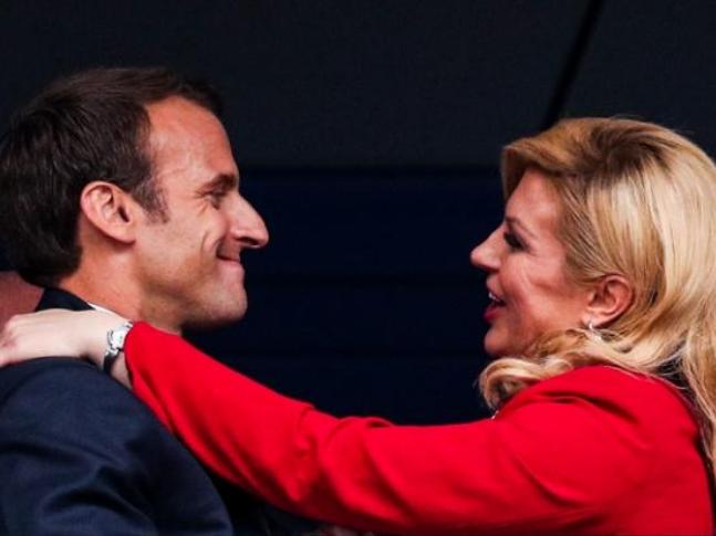 Эмоции президентов Франции и Хорватии в финале ЧМ – ФОТО – ВИДЕО