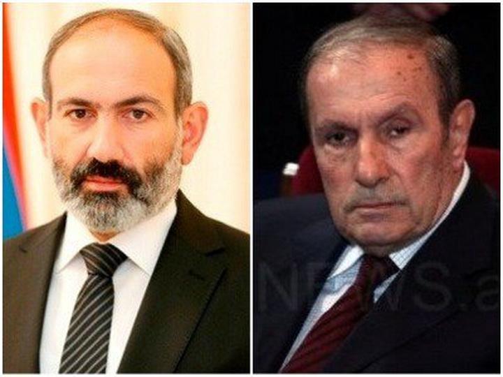 Никол Пашинян и Тер-Петросян обсудили карабахский конфликт