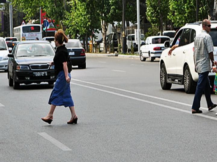 В Азербайджане штрафы для пешеходов увеличены в два раза