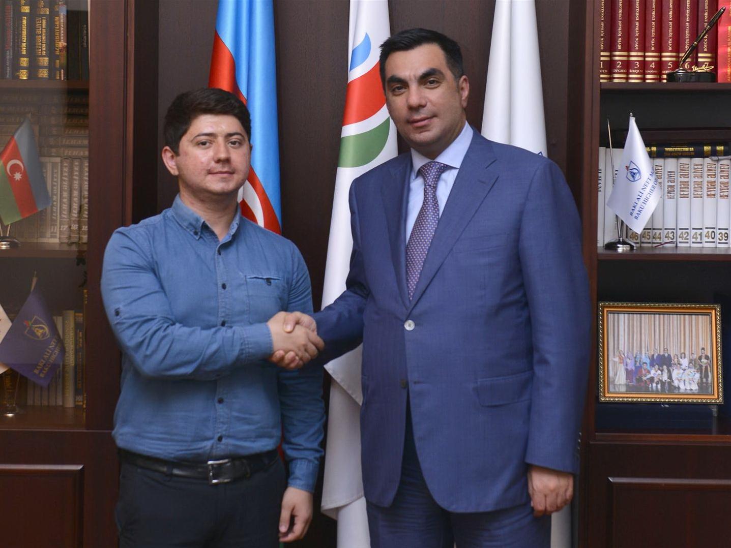 Азер Омаров: «Поступление в БВШН стало поворотным моментом в моей жизни»
