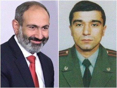 Никол Пашинян уволил заместителя главного военного инспектора Армении
