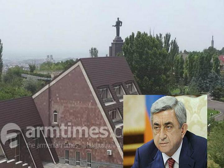 Дом, требуемый Сержем Саргсяном, стоит 2 млн долларов - ФОТО