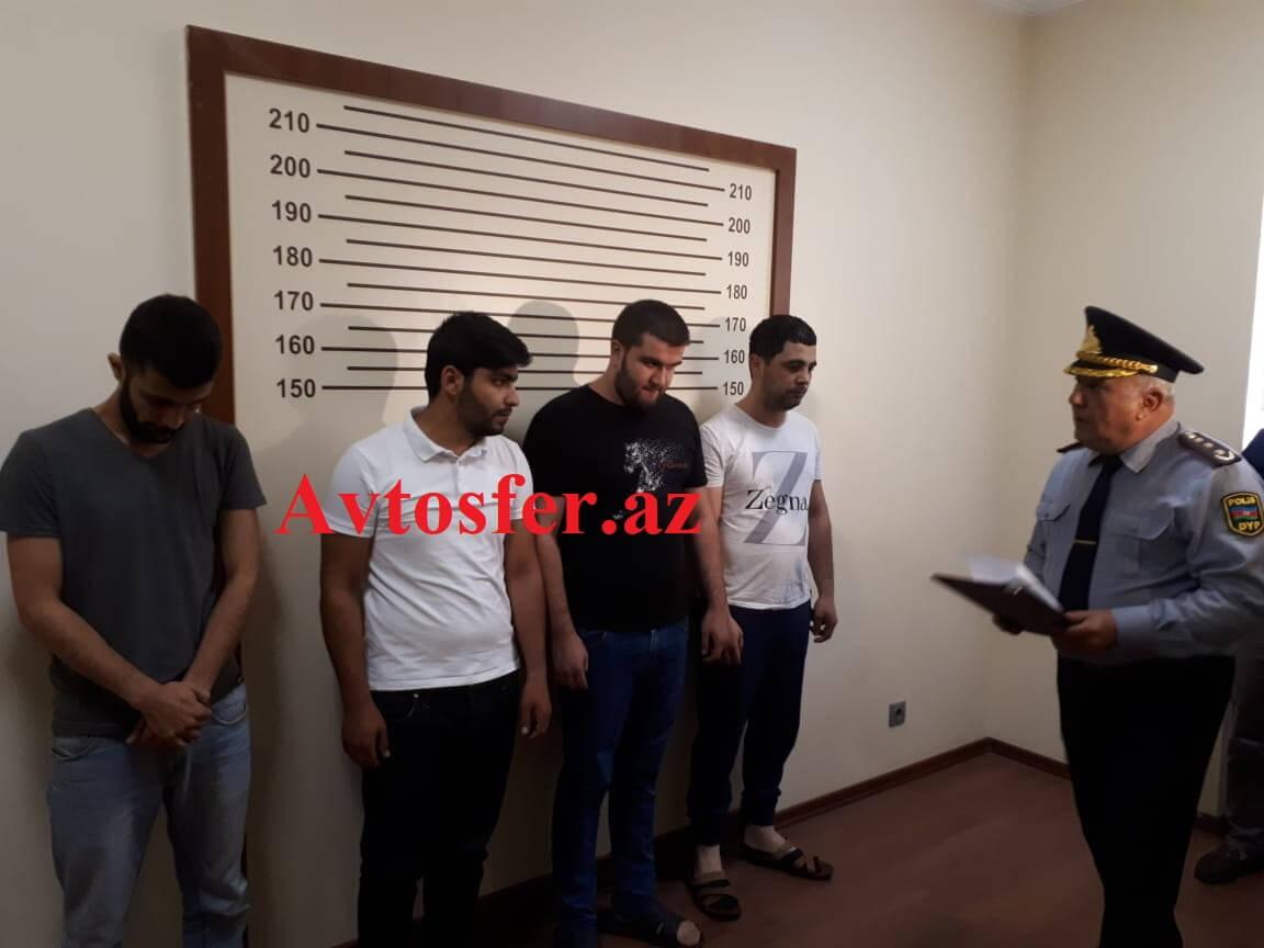 Арестованы участники свадебного кортежа, танцами с шампанским перегородившие туннель в Баку – ФОТО – ВИДЕО