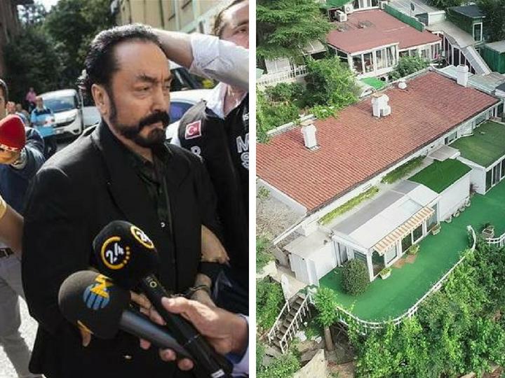 «Очаг разврата»: В Турции впервые распространены фотографии элитного особняка Аднана Октара – ФОТО - ВИДЕО