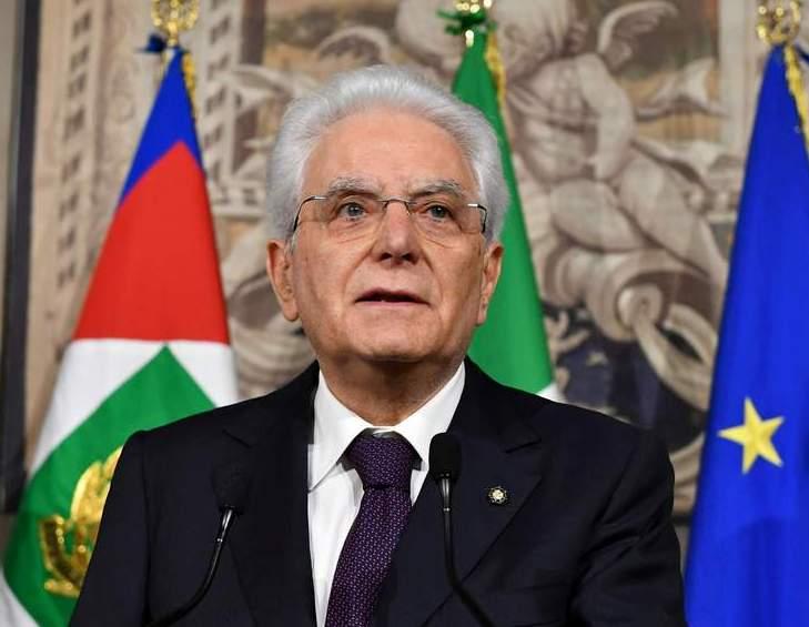 İtaliya prezidentinin rəsmi qarşılanma mərasimi olub
