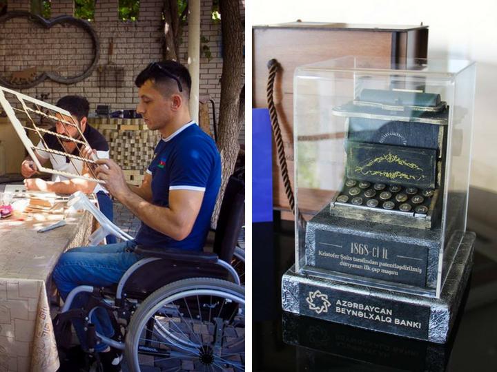 Люди с ограниченными возможностями здоровья подготовили подарки для журналистов – ФОТО