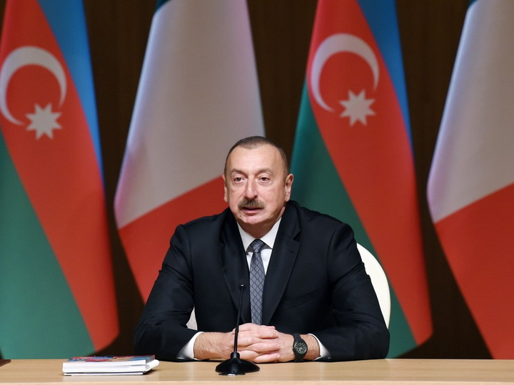 Ильхам Алиев: В ближайшее время азербайджанский газ займет свое место на пространстве Европейского Союза