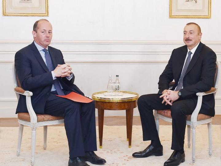 Обсуждены вопросы сотрудничества между компанией Airbus и «Азеркосмосом» - ФОТО