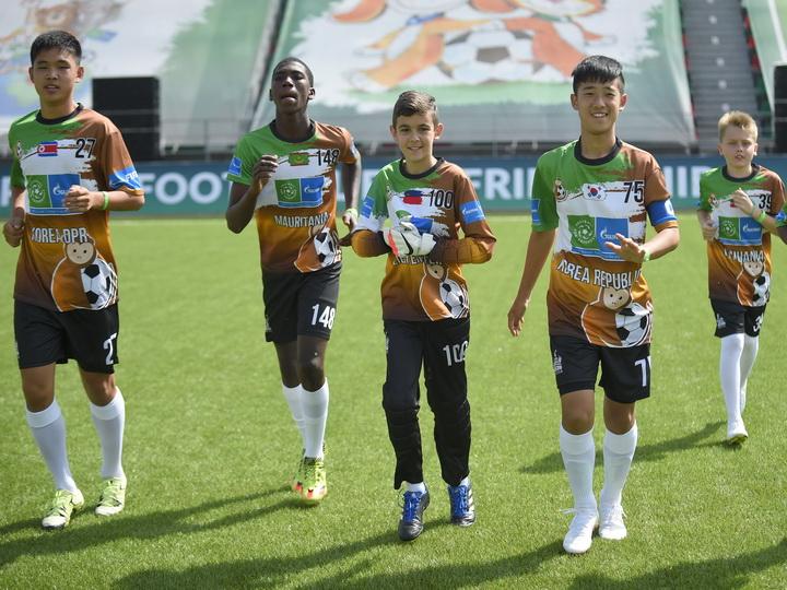 «Футбол для дружбы» подружил Северную и Южную Кореи