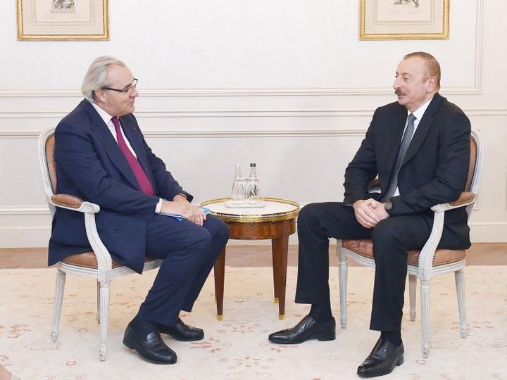 Состоялся обмен мнениями о перспективах сотрудничества между Азербайджаном и группой SUEZ - ФОТО
