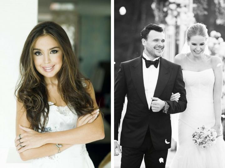 Лейла Алиева пожелала счастья Эмину Агаларову и Алене Гавриловой