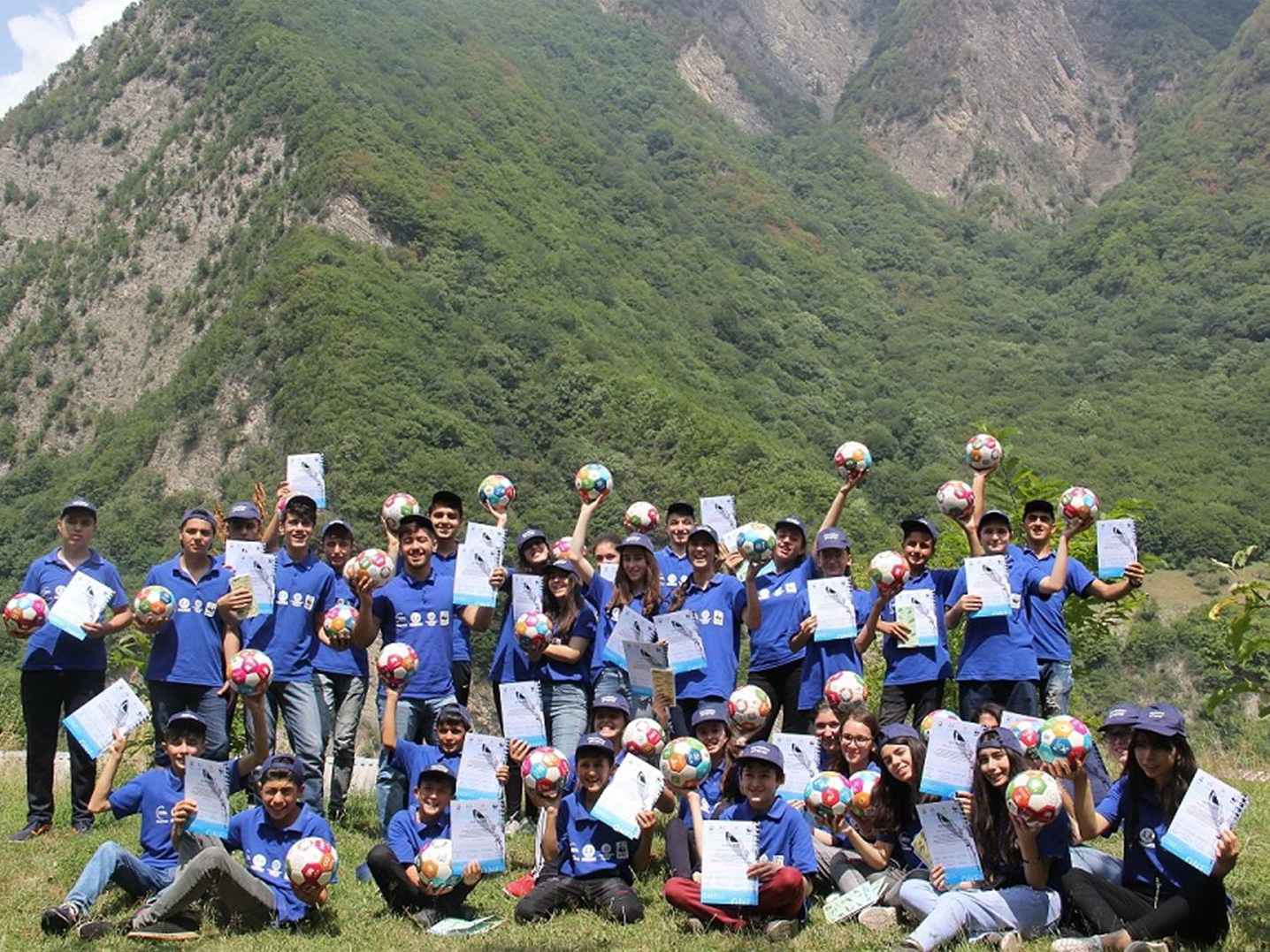 В Азербайджане завершился экологический лагерь «Сохраним джейранов!» - ФОТО