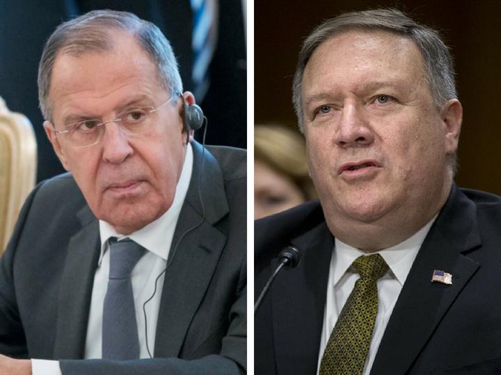 Лавров и Помпео обсудили КНДР и Сирию