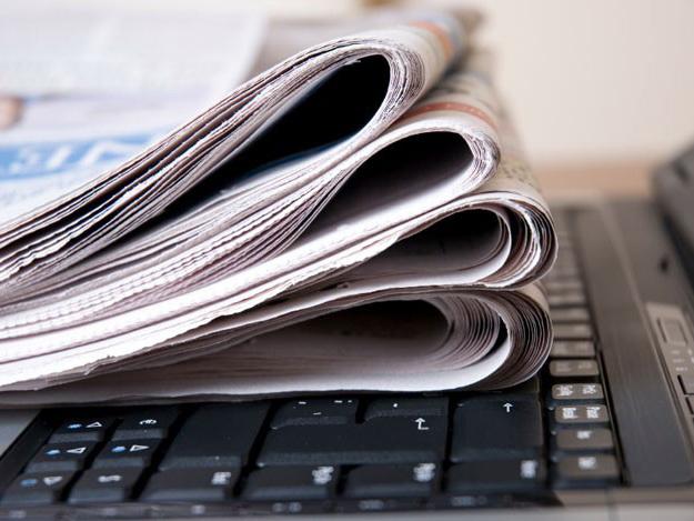Редактора изданий о развитии СМИ в Азербайджане в день Национальной прессы