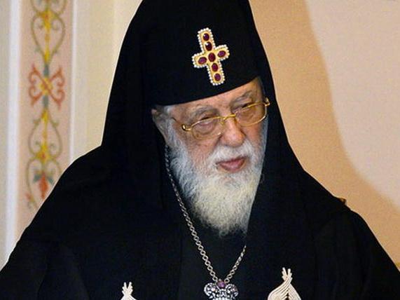 Патриарх Грузии почувствовал себя плохо во время службы