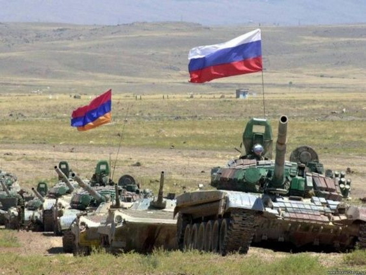 Масштабные учения начались на российской военной базе в Армении