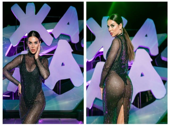 Соблазнительная Анна Седокова вышла на сцену «Жары» в «голом» платье – ФОТО - ВИДЕО