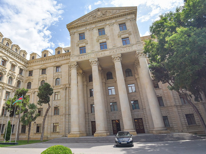 МИД Азербайджана ответил порталу Euroasianet