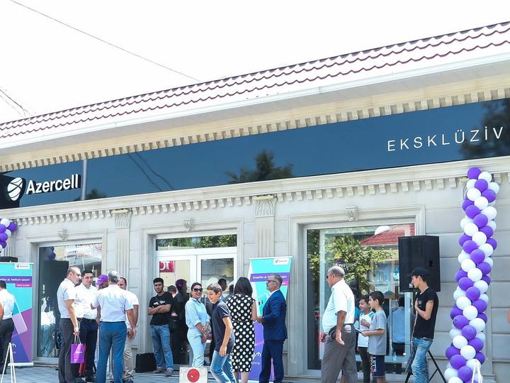 Azercell Telekom представил в пользование абонентов новый эксклюзивный магазин в Барде – ФОТО