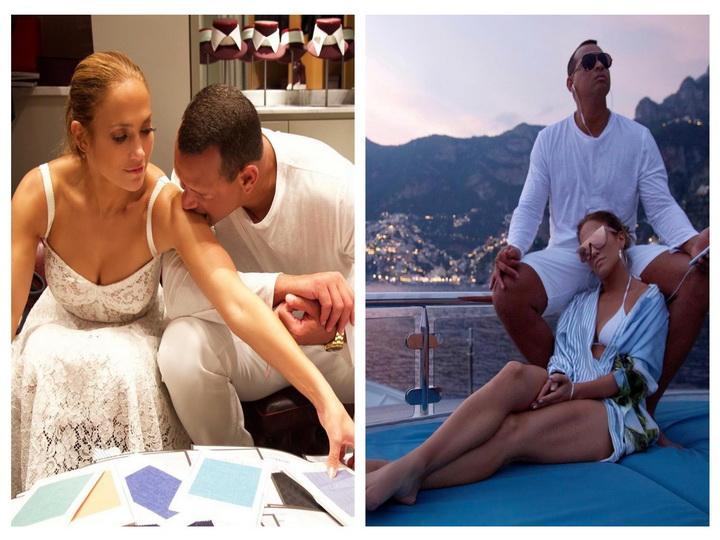 Романтические итальянские каникулы Джей Ло и Алекса Родригеса – ФОТО