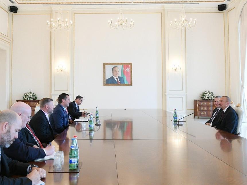Президент Ильхам Алиев принял делегацию Конгресса США – ФОТО