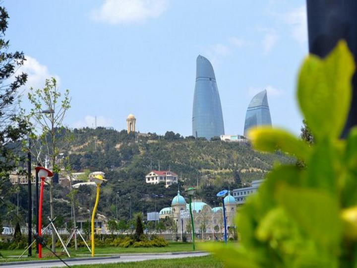 Завтра в Баку будет тепло, до +29