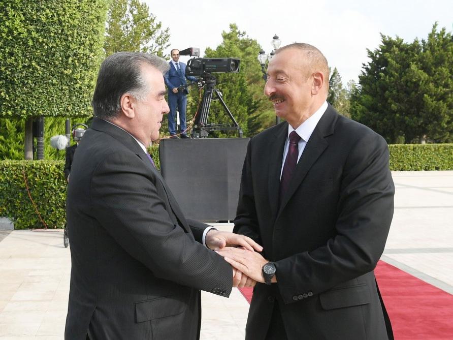 Состоялась церемония официальной встречи Президента Таджикистана – ФОТО