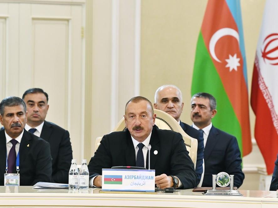 Ильхам Алиев: «Азербайджан вносит весомый вклад в укрепление региональной стабильности и безопасности» - ФОТО