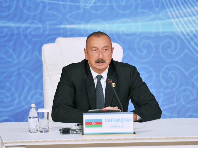 Ильхам Алиев: «Азербайджан вносит активный и большой вклад в улучшение экологической ситуации на Каспии» - ФОТО