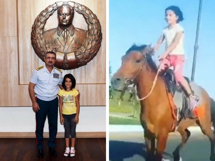 Федерация конного спорта АР взяла под опеку юную наездницу, поразившую всех своим мастерством – ФОТО – ВИДЕО