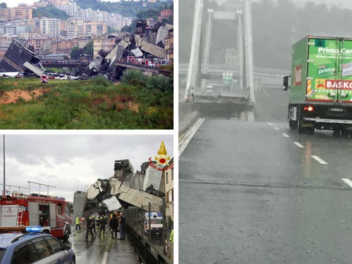 В Генуе число жертв при обрушении моста достигло 35 человек - ФОТО - ВИДЕО - ОБНОВЛЕНО