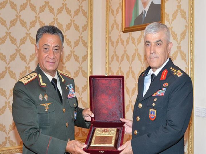 Ramil Usubov Türkiyənin ordu generalı ilə görüşüb – FOTO