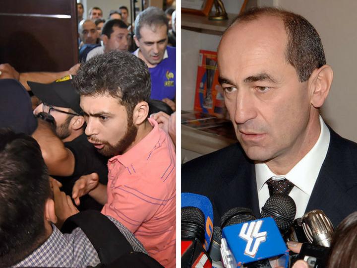 «Отпустить нельзя арестовать»: В Армении идет война за Кочаряна