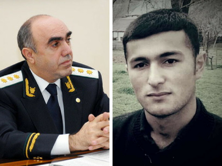 Zakir Qaralov hərbi hissədə vəfat edən əsgərin atasını qəbul edib – FOTO