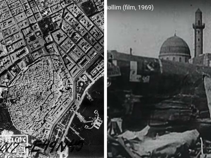 Уникальные снимки военного Баку с борта фашистского самолета-разведчика Ju-88 - ФОТО