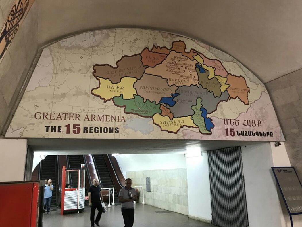Карта «Великой Армении» как Дамоклов меч над головами жителей Еревана – ФОТО