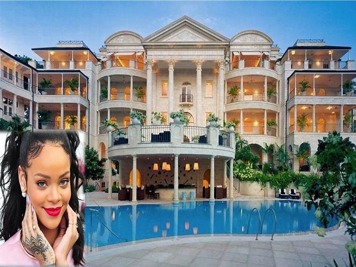 Polis Rihannanın evini mühasirəyə aldı