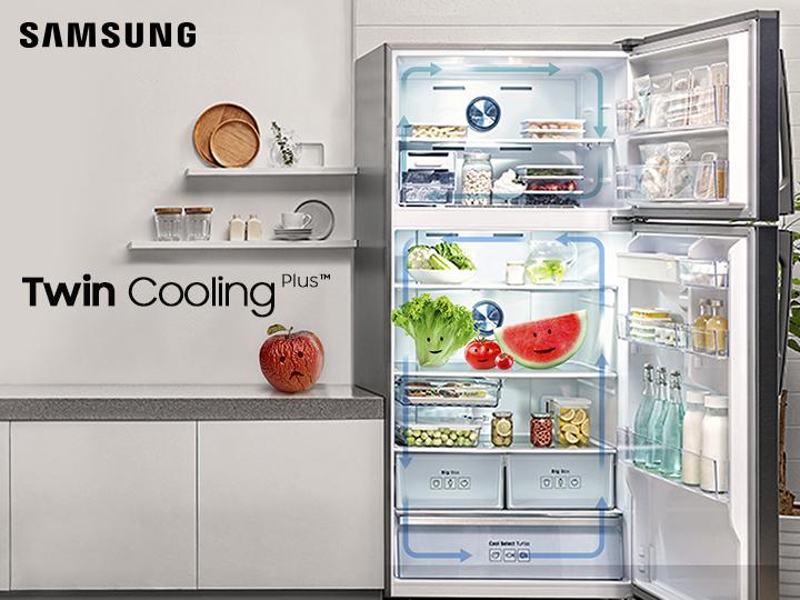 Двойная система охлаждения на холодильниках Samsung Twin Cooling