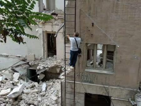 Как Алексей Клинчев стал бомжом, или Домой по пожарной лестнице на 4-й этаж – ФОТО - ВИДЕО
