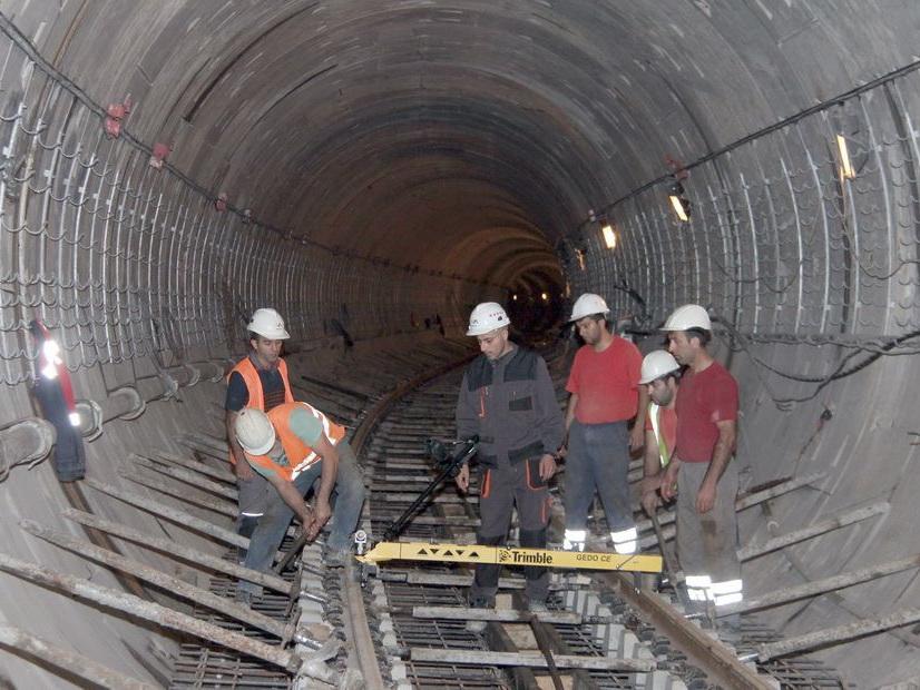 Начался заключительный этап строительства новой станции Бакметрополитена - ФОТО – ВИДЕО