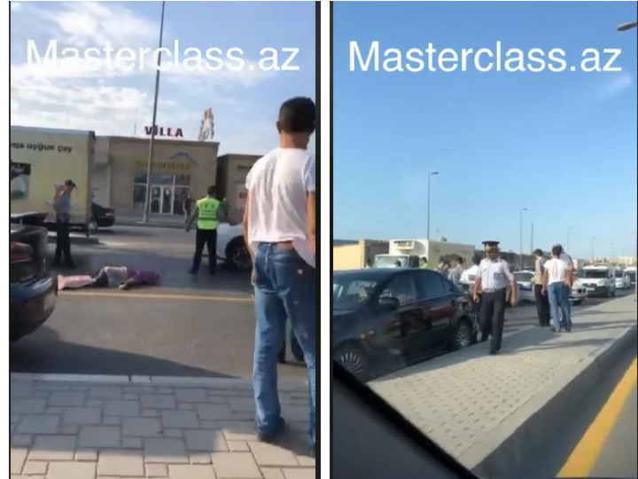 В Баку насмерть сбит пешеход - ФОТО