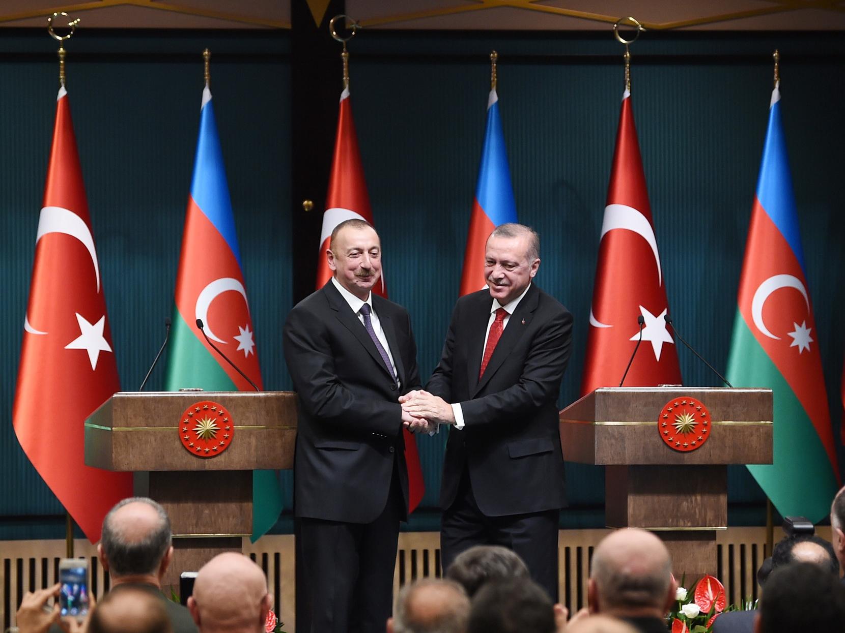 Ильхам Алиев: «Дружеские и братские отношения между Азербайджаном и Турцией сегодня всесторонне развиваются»
